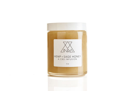 HEMP + SAGE HONEY