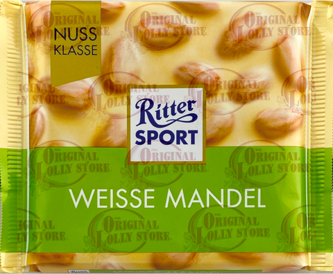 Ritter Sport - Weisse Mandel (White Whole Almonds)