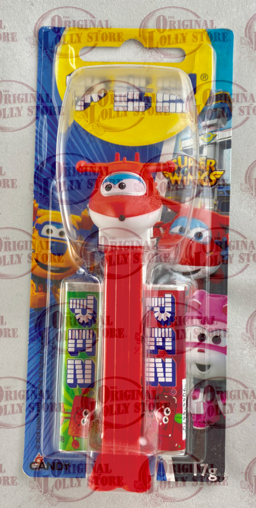 PEZ Super Wings - Red Plane Jett