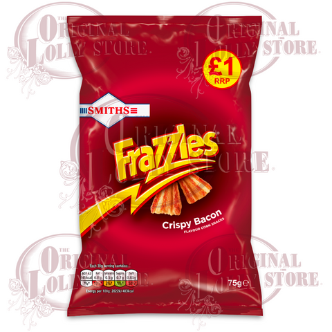 Smiths Frazzles Crispy Bacon Snacks 75g (BB 02/01/21)