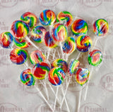 Rainbow Lollipop (Round)