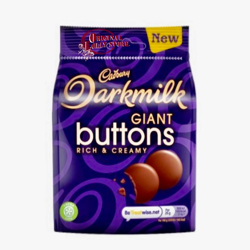 Cadbury Darkmilk Giant Buttons Chocolate Bag 90g
