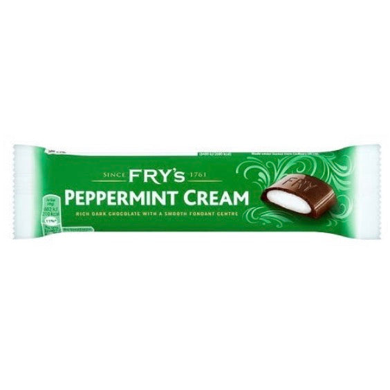 Fry's Peppermint Cream Chocolate Bar (PAST BB 03/12/20)