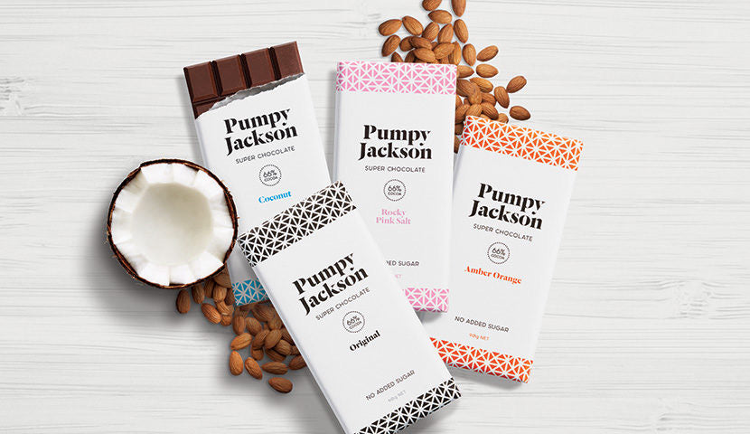 Pumpy Jackson chocolate Rocky Pink Salt