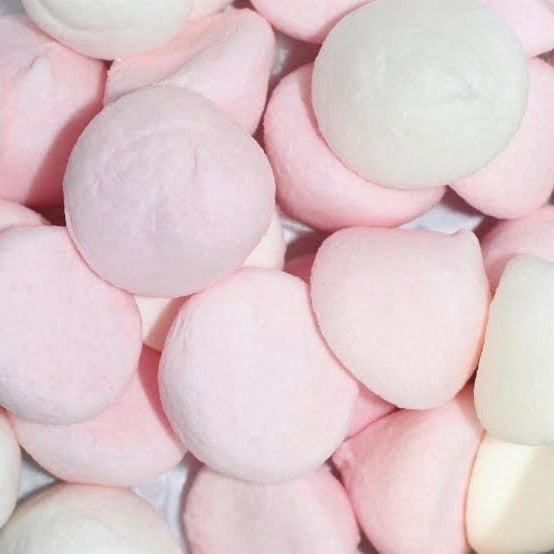 Marshmallow Puffs Pink & White 100g