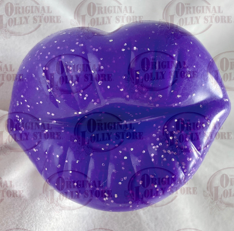 Dummy Purple Kissy lips Lollipop