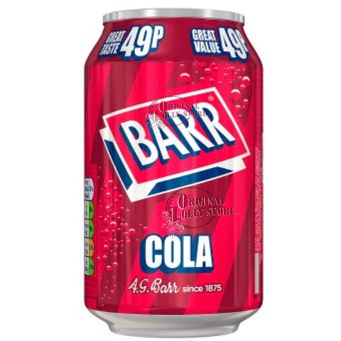 Barr Cola 330ml