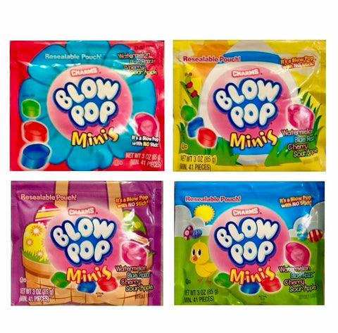 Charms Easter Blow Pop Minis 85g