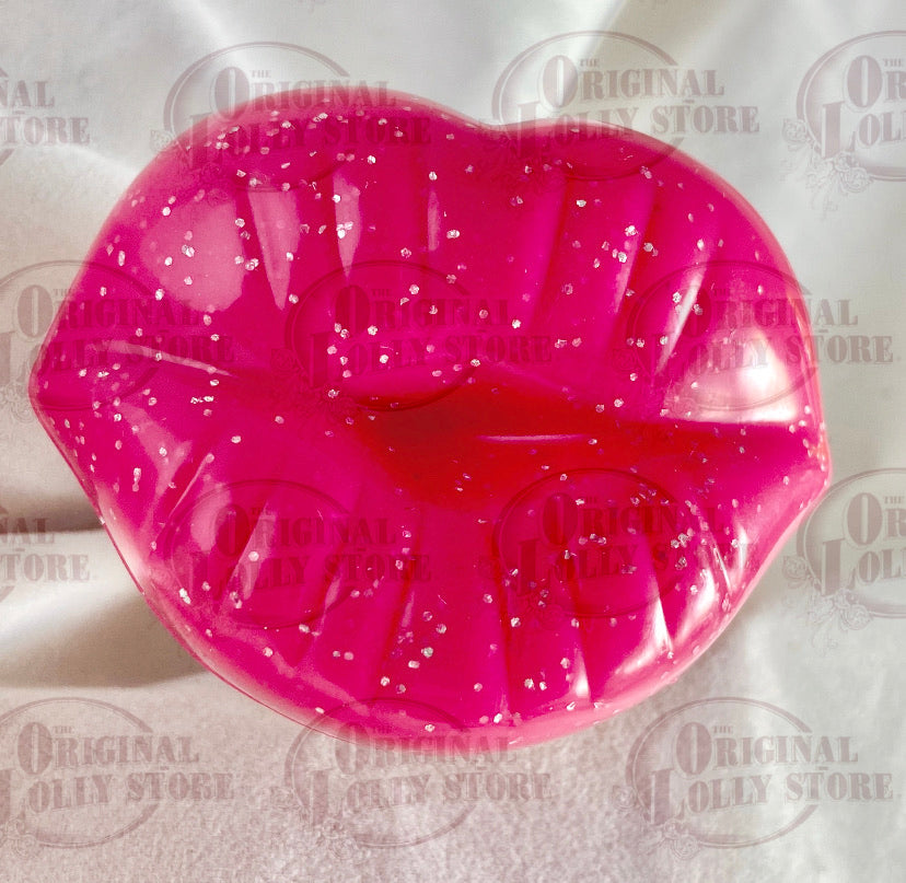 Dummy Pink Kissy lips Lollipop