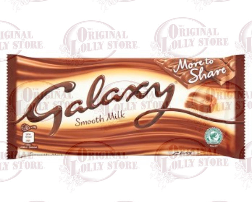 Galaxy Smooth Milk Chocolate More to Share Bar 200g