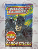 Super Heroes Candy Sticks Justice League