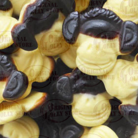 Dutch Licorice Monkey Face Banana & Licorice 175g