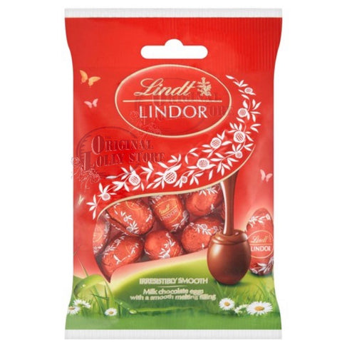 Lindt Lindor Milk Mini Eggs 80g (Easter stock Update: In store ETA 09/04)