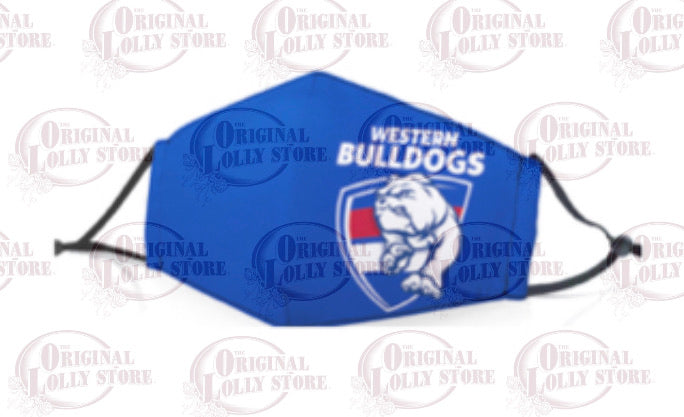Face Mask Western Bulldogs