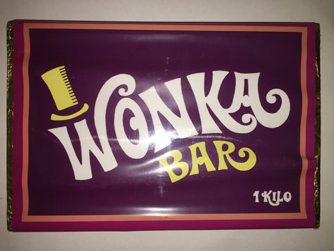 WONKA BAR 1kg. Milk Chocolate