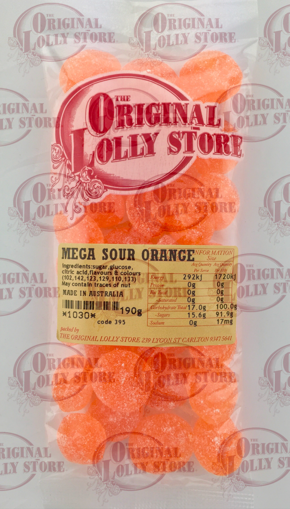 Mega Sour Orange