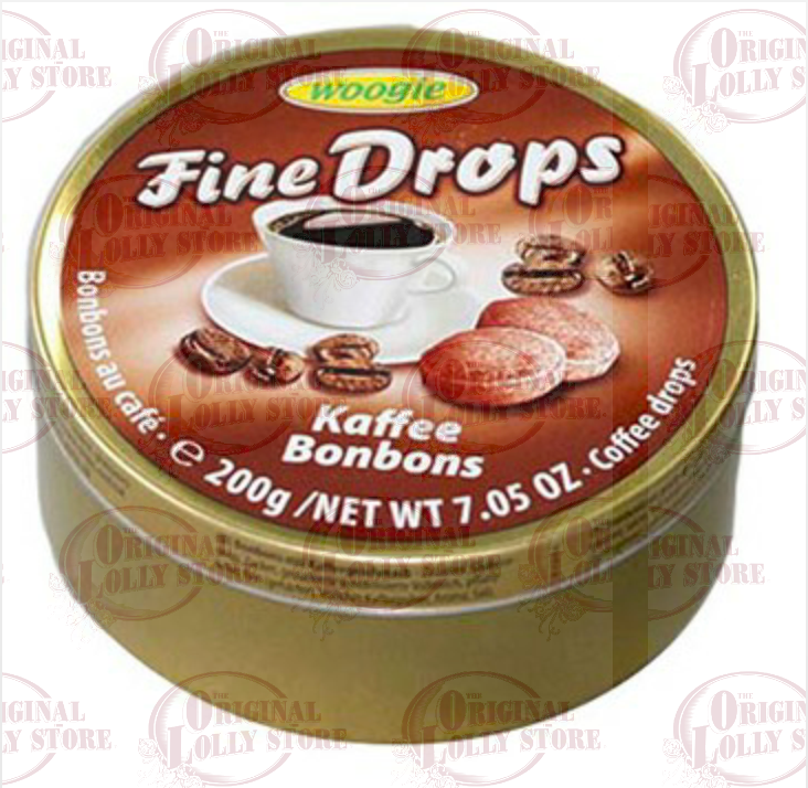 Coffee Bonbons Fine Drops Woogie Tin