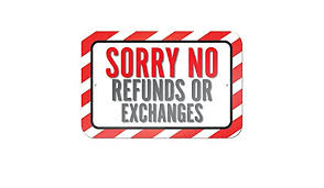 Sorry NO Refund Or EXCHANGES on PERSONALIZED MERCHANDISE !! - Treasures Made Just Because