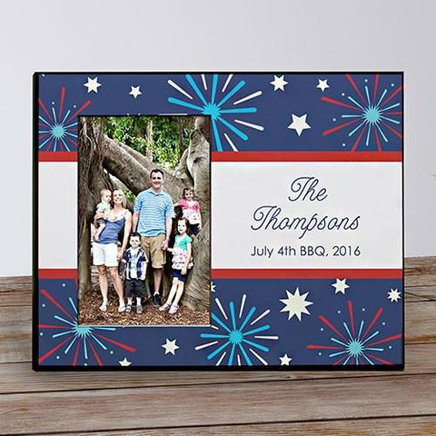 4th of July Personalized Printed Frame - Treasures Made Just Because