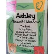 Girl Daydream Scripture Name Card With Pre Printed Inspirational Bible Verse Meaning Beautiful