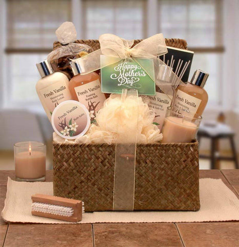 Blissful Relax Vanilla Gift Chest - Treasures Made Just Because
