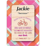 Girl Daydream Scripture Name Cards that begin with J (Jackie - June)