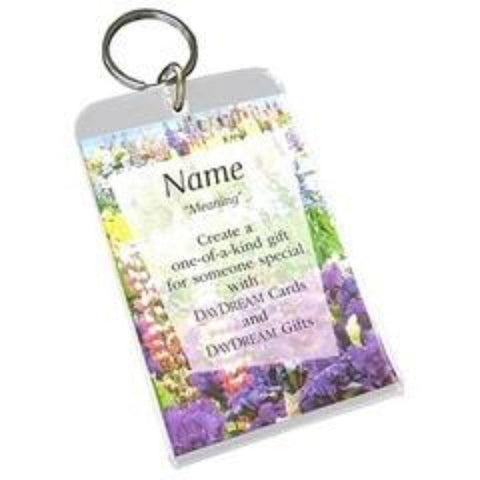 Buy Acrylic Giftware for Daydream Scripture Name Cards so you can display it with your a photo in a single, double or triple frame, magnet or keychain. Size: 3.5 x 2.5.