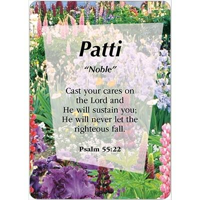 Girl Daydream Scripture Name Cards that Begin with P (Paige - Priscilla) Click on Card to View All *P* Names - Treasures Made Just Because