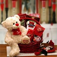 Valentine Be Mine Gift Basket - Treasures Made Just Because