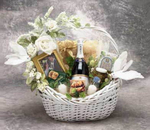 Wedding Wishes Gift Basket - Treasures Made Just Because