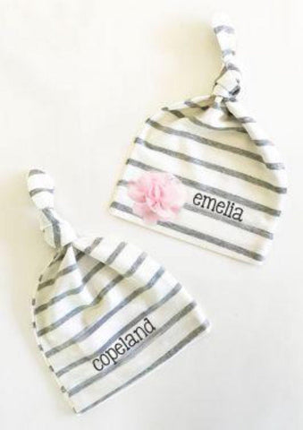 Custom Baby Hats - Treasures Made Just Because