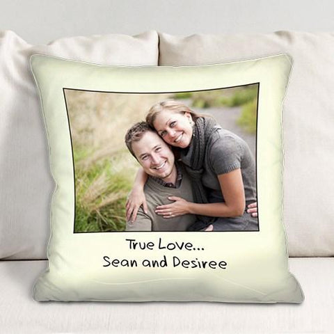 Custom Message Family Throw Pillow - Treasures Made Just Because