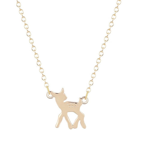 Lost Deer Gold Necklace