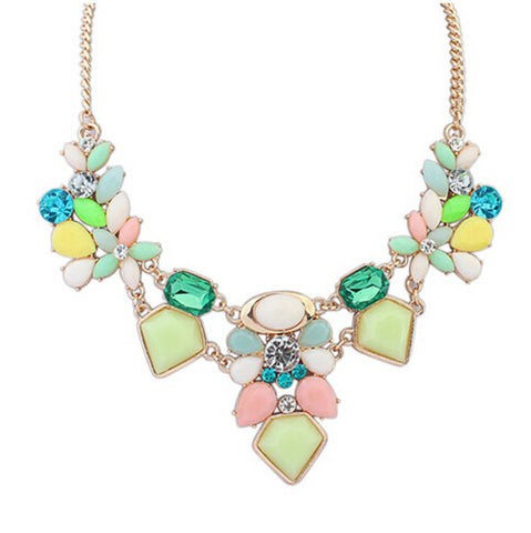 Candy Crush Gem Necklace