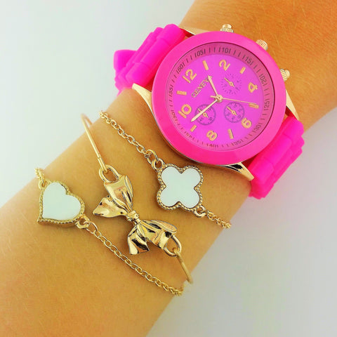 Pretty In Pink Watch Set