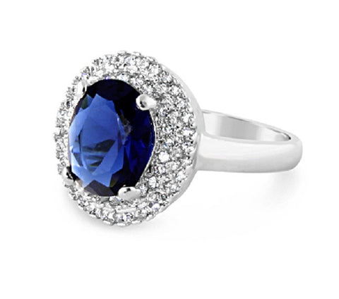 Blue Sky Platinum Ring
