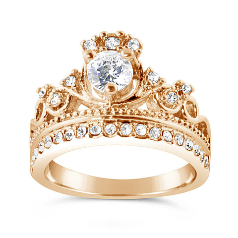 Lady Rose Crown Ring