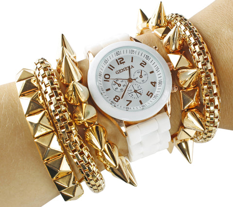 Spike And Rivet Watch Set