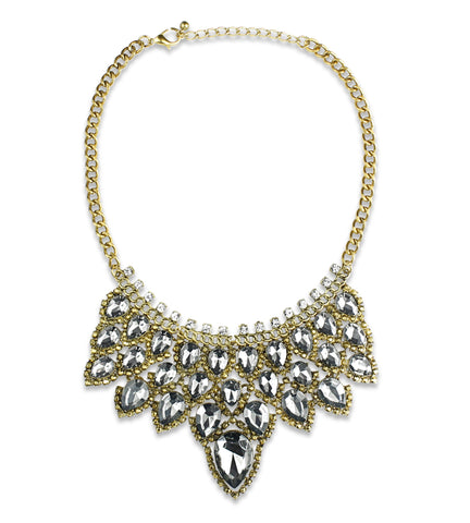 Rayne Teardrop Statement Necklace