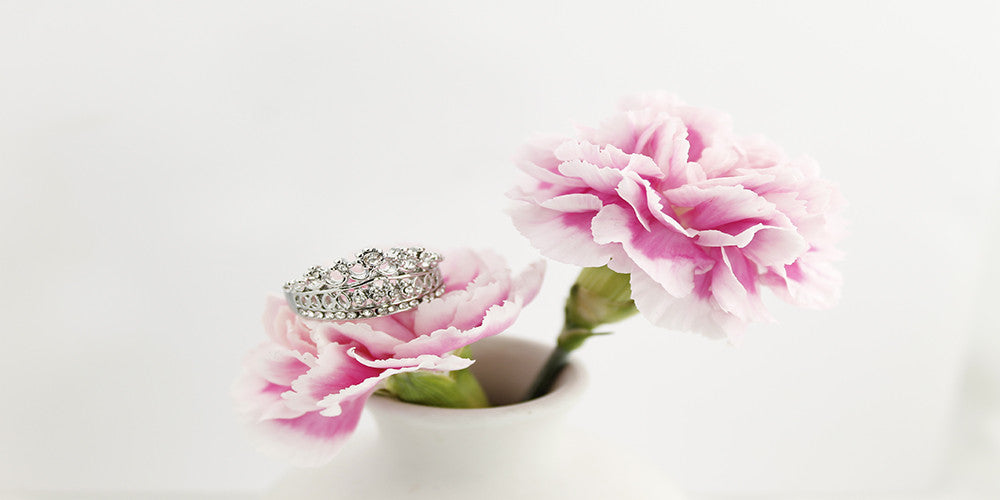 Crown Rose Ring