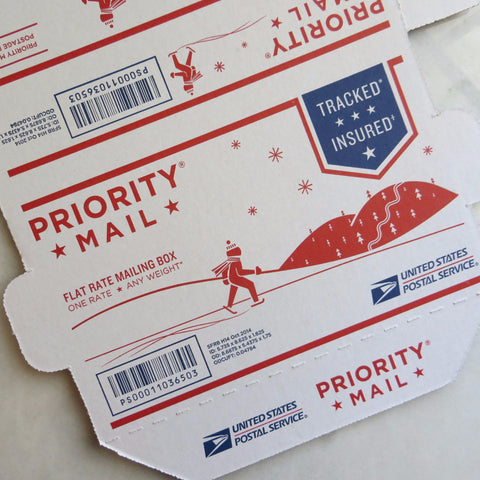 flat rate priority small box mailer