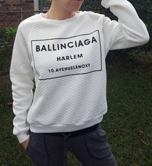 balenciaga harlem nyc sweater