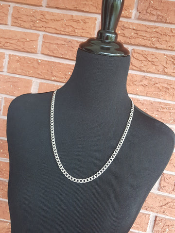 stainless steel unisex layering chain necklace