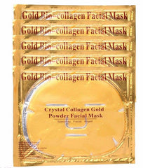 anti aging anti wrinkle gold crystal mask