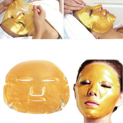 gold korean beauty collagen face mask
