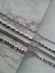 stainless steel layering necklaces hrh