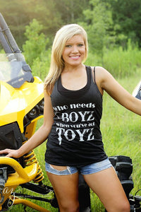 Ladies Who Needs Boyz Tanks - ProSport Outdoors