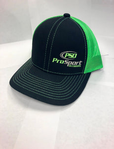ProSport Outdoors Black & Neon Green Platinum Series Snap Back Hat
