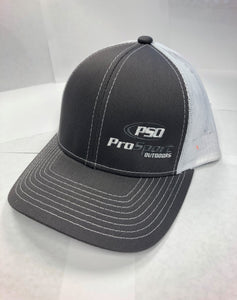 ProSport Outdoors Charcoal & White Platinum Series Snap Back Hat - ProSport Outdoors