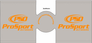 Grey ProSport Outdoors Koozie - ProSport Outdoors